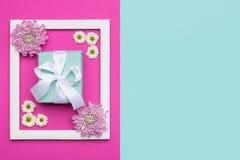 Bakgrund för pastell för dag eller för födelsedag för ` s för dag, för valentin för lycklig för moder` s ` s för dag, för kvinnor Royaltyfria Bilder