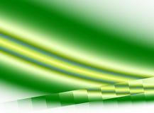 Bakgrund för Pixelated effektfractal med kurvor i skuggor av mörker och ljus - gräsplan stock illustrationer