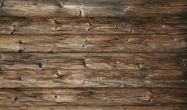 Bakgrund för plankor för gammal tappning för mörk brunt trä royaltyfri fotografi