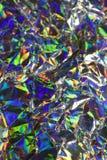 Bakgrund för regnbåge för Holographic diskoabstrakt begrepp skinande Arkivfoton