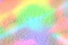 Bakgrund för regnbågevattendroppe Royaltyfri Fotografi