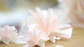 Bakgrund för rosblommabröllop Royaltyfri Bild