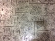 Bakgrund för sömlös textur för golv för marmortegelplattor mönstrad Arkivfoto