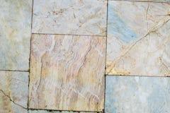 Bakgrund för sömlös textur för golv för marmortegelplattor mönstrad Royaltyfri Bild