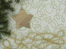 Bakgrund för ` s för jul och för nytt år med stjärnor Royaltyfria Foton