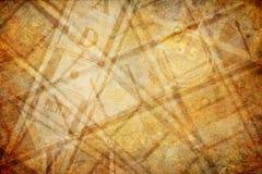 Bakgrund för Sepia för biobildbandtappning arkivbild