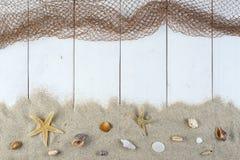 Bakgrund för sommarferier med ett utrymme för annonsering Royaltyfri Foto