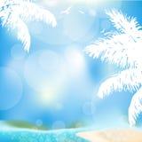 Bakgrund för sommarsemester Royaltyfria Bilder