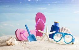 Bakgrund för sommarsemester Royaltyfri Fotografi