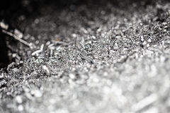 Bakgrund för stålshavingsmakro Royaltyfria Bilder