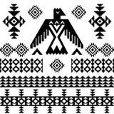 Bakgrund för stam- tappning för vektor infödd etnisk Royaltyfria Bilder