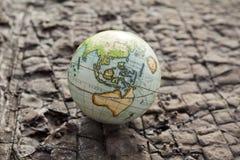 Bakgrund för sten för Australien världsjordklot Fotografering för Bildbyråer