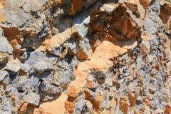 Bakgrund för steniga berg Arkivbilder