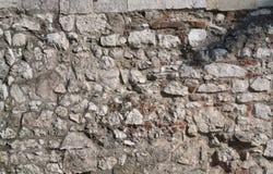 Bakgrund för stenvägg Arkivbilder