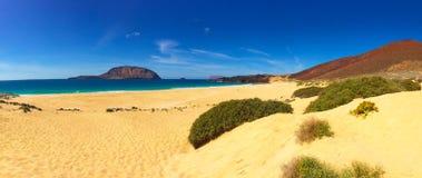 Bakgrund för strand sand Arkivbilder