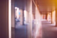 Bakgrund för suddighet för abstrakt begrepp för affärskontorslokal royaltyfri foto