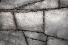 Bakgrund för svetsad metall arkivfoto