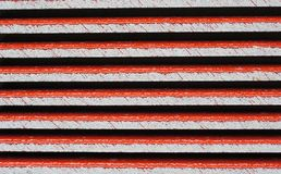 Bakgrund för tak Abtract för röda tegelplattor Arkivbilder