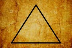 Bakgrund för tappning för symboler för elementärt symbol för brand magisk royaltyfri illustrationer