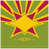 Bakgrund för tappningdesignmall Royaltyfria Bilder