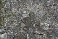 Bakgrund för tappningtegelstenvägg Tegelstentextur med flera lager av skalad målarfärg Gammal smula vägg royaltyfri foto