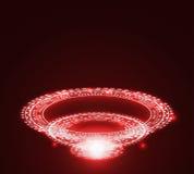 Bakgrund för Techology ljus färgabstrakt begrepp Arkivfoto