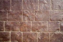 Bakgrund för tegelstenvägg, tapet Royaltyfria Foton