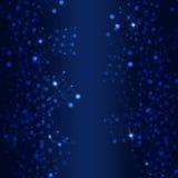 Bakgrund för teknologinätverksblått Royaltyfri Bild