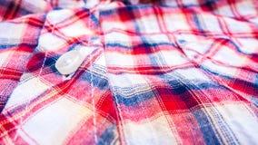 Bakgrund för textur för abstrakt begrepp för höftskynsketygskjorta Arkivfoto