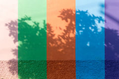 Bakgrund för textur för betongväggblandningfärg Arkivfoton