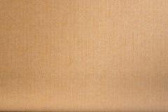 Bakgrund för textur för brunt papper för hantverk Arkivbilder