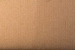 Bakgrund för textur för brunt papper för hantverk Royaltyfri Bild