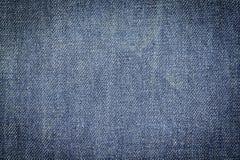 Bakgrund för textur för grov bomullstvilljeanstyg för design Royaltyfria Bilder