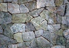 Bakgrund för textur för stenvägg Royaltyfria Bilder