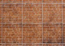 Bakgrund för textur för tegelstenvägg Royaltyfria Foton
