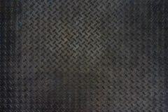 Bakgrund för textur för golv för platta för Grungemetalldiamant arkivbilder