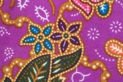 Bakgrund för textur för modell för rät maska för siden- tyg för siden- modell thailändsk sömlös Arkivbild