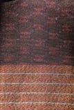 Bakgrund för textur för modell för rät maska för siden- tyg för siden- modell thailändsk sömlös Arkivbilder