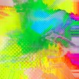 Bakgrund för texturer för blandat massmedia färgrik Royaltyfria Foton