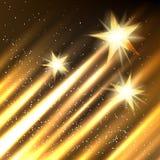 Bakgrund för tillväxt för Hollywood stjärnor vektor illustrationer