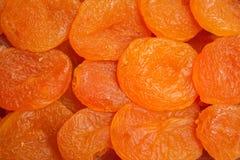 Bakgrund för torkade aprikors royaltyfria bilder