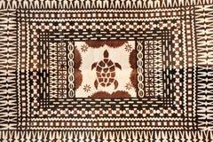 Bakgrund för torkduk för tapa Taditional för Stillahavs- öar royaltyfria bilder