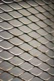 Bakgrund för trådstaket Sömlöst staket för chain sammanlänkning för metall Royaltyfria Bilder