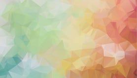 Bakgrund för triangel för vektorpolygonabstrakt begrepp modern Polygonal geometrisk royaltyfri illustrationer