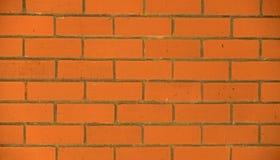 Bakgrund för vägg för röd tegelsten texturerad Arkivfoton