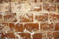 Bakgrund för vägg för röd tegelsten, textur Rött medf8ort royaltyfri bild