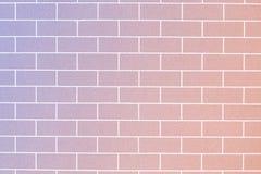Bakgrund för väggBlick textur Royaltyfria Foton