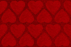 Bakgrund för valentindagabstrakt begrepp med hjärtaform Royaltyfria Bilder