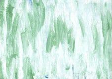 Bakgrund för vattenfärg för Azureish vitabstrakt begrepp Royaltyfri Fotografi