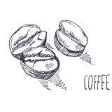 Bakgrund för vattenfärg för kaffekornpapper, härlig idérik planet vektor illustrationer